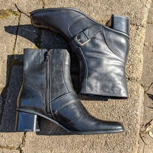 Bandolino leather boots size 9.5